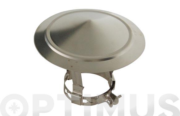 Sombrero galvanizado extensible chimenea seg1: ø 80-115