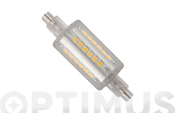 Lampara lineal led 360. r7s 78mm 6w luz calida