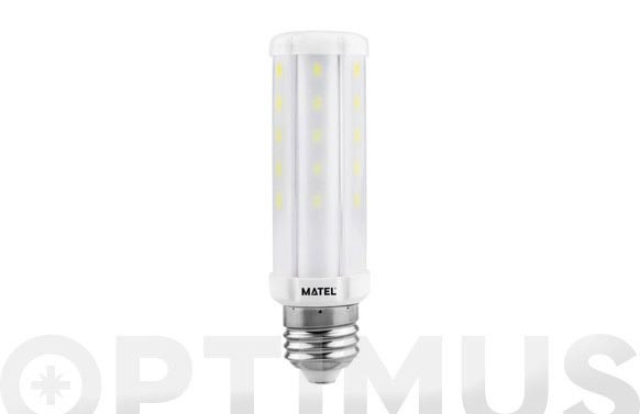 Lampara tubular led e27 10w luz blanca
