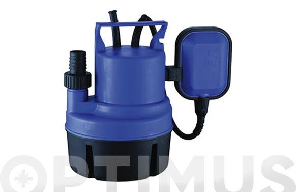 Bomba sumergible aguas limpias 200w 3500 l/h