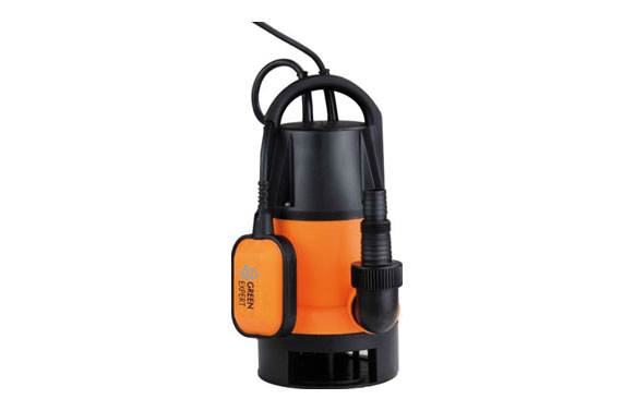 Bomba sumergible aguas sucias 400w 7000l/h