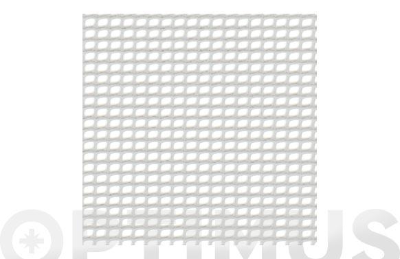 Malla cuadranet premium (malla 20x20mm) 400gr/m2 1 x 25 m blanca
