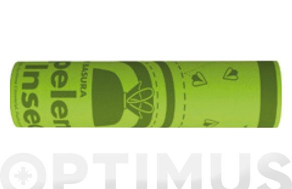 Bolsa basura cierra facil 30 l citronela (15 uds) 55 x 60 cm g-80