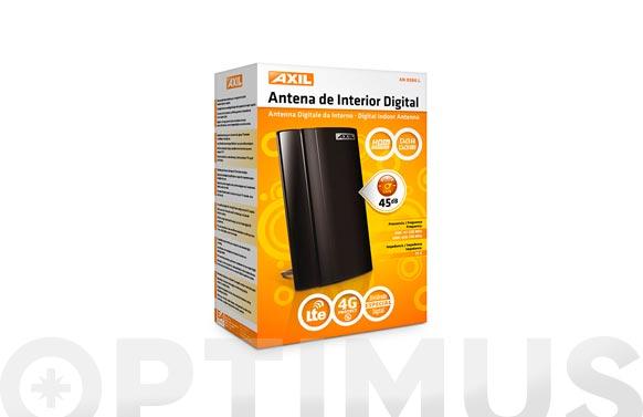 Antena tv digital interior 4g con filtro