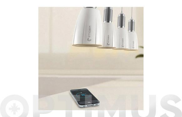 Bombilla musical led smartphone bluetooth