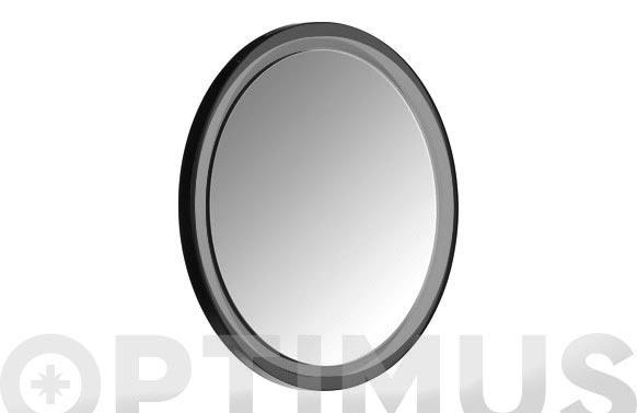 Espejo cosmetica con ventosa cromado aumento x5