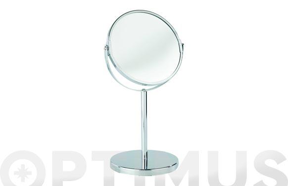 Espejo pie assisi aumento x3 ø 16 cm