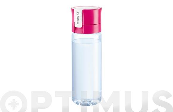 Botella filtrante fill&go rosa-0,6 l