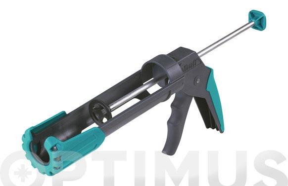 Pistola silicona reforzada mg 200 ergo
