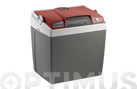 Nevera rigida termoelectrica premium 12/220v g26 25 l con usb