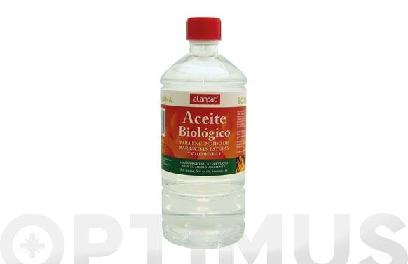 Liquido encendido barbacoa biologico 100% natural 1 litro