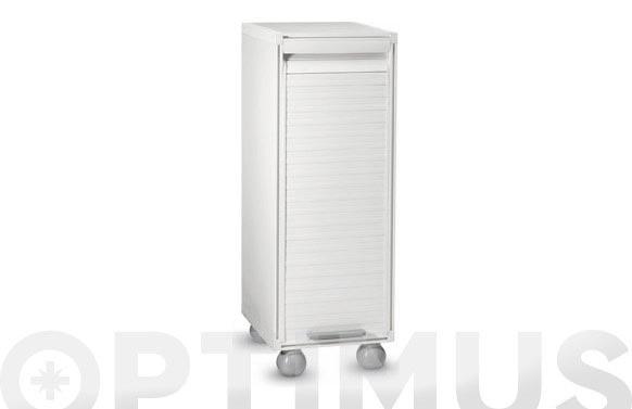 Armario columna persiana blanco 91 x 33,3 x 35 cm