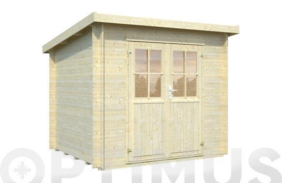 Caseta madera piola 19mm 4,4m2