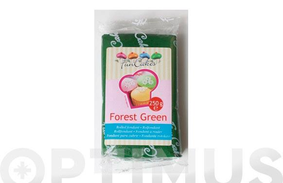 Fondant color 250 gr verde bosque