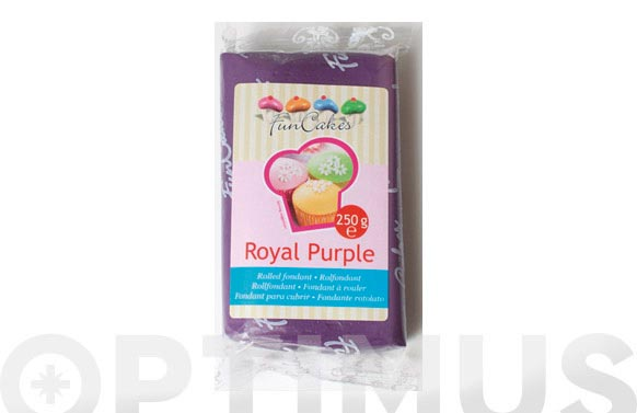 Fondant color 250 gr purpura real
