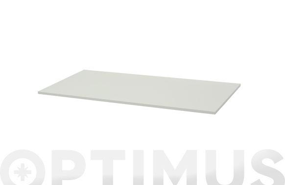 Estante rectangular 4xs blanco brillo-1,8x80x23,5 cm