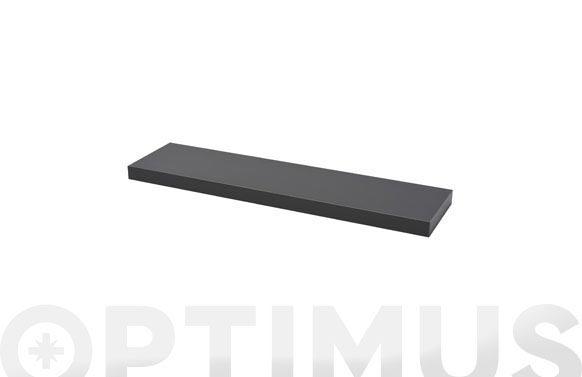 Estante atamborado rectangular xl4 antracita-3,8x80x20 cm