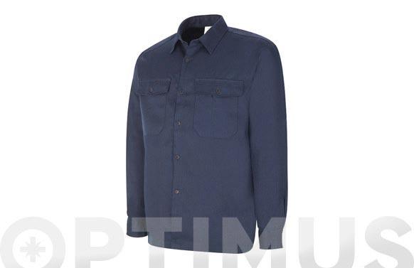 Camisa ignifuga antiestatica azul t 49/50