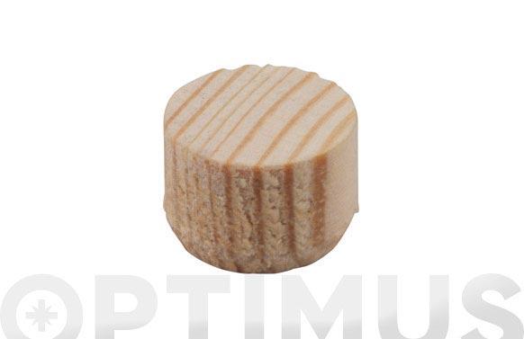 Espiga madera ensamblar plana 50 uds ø 15 mm