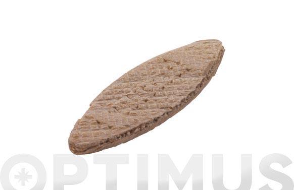 Galleta madera ensamblar 50 uds n.0