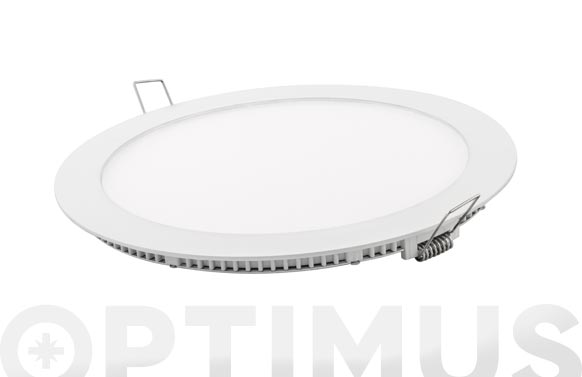Downlight led empotrar blanco redondo 18 w 1700 lm neutra (4000k)