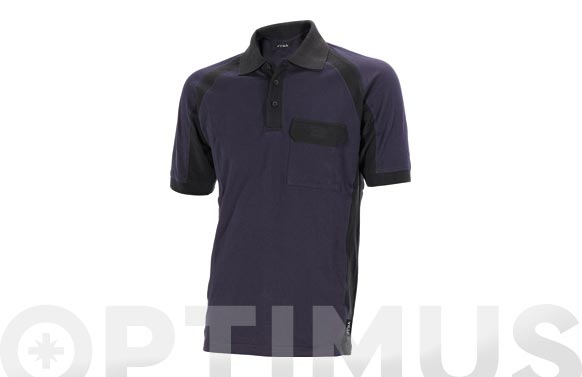 Polo manga corta flex t xl