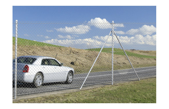 Poste refuerzo galvanizado kit 1,5/1,85 m