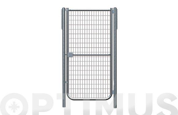 Puerta malla electrosoldada galvanizada 1-h 1000x1000