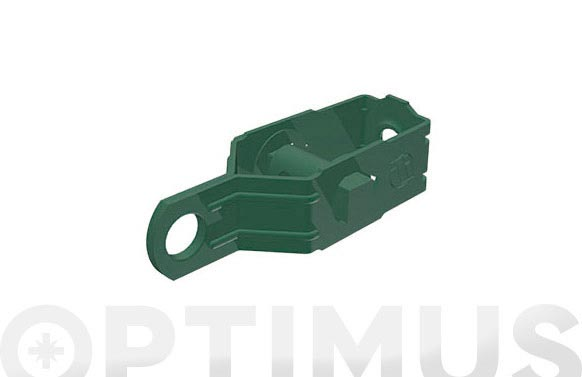 Tensor alambre plastificado verde 85x25