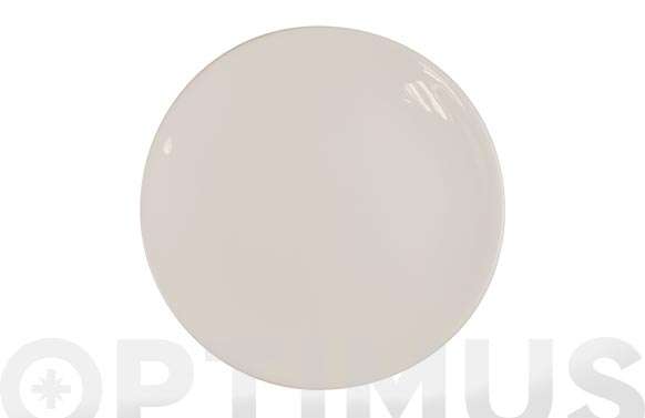 Plato fine china blanco llano 25,2 cm