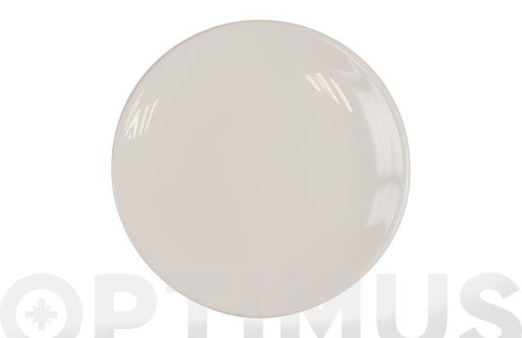 Plato fine china blanco postre 20 cm