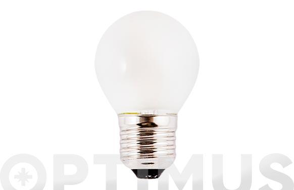 Lampara filamento led esf opal e27 3w luz calida (3000k)