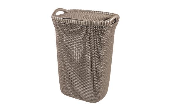 Pongotodo knit hamper 57l marron