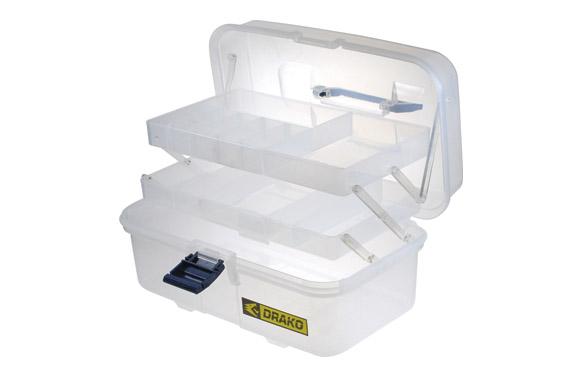 Caja multiuso plastico transparente 170 x 335 x 205 mm