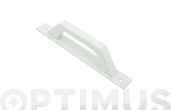 Asa con placa carpinteria aluminio 6804 blanco