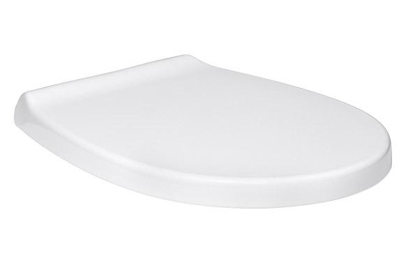 Tapa wc optima caida amortiguada blanca