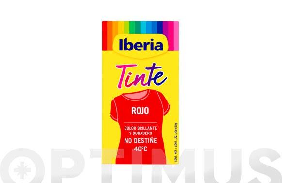 Iberia tinte 40.c rojo