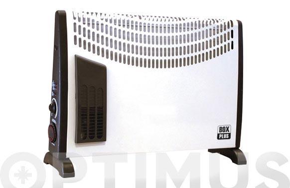 Convector turbo c/temporizador 24h 750/1250/2000w