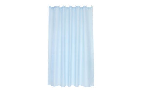 Cortina de baño poliester soul azul 1.80 x 2.00 m