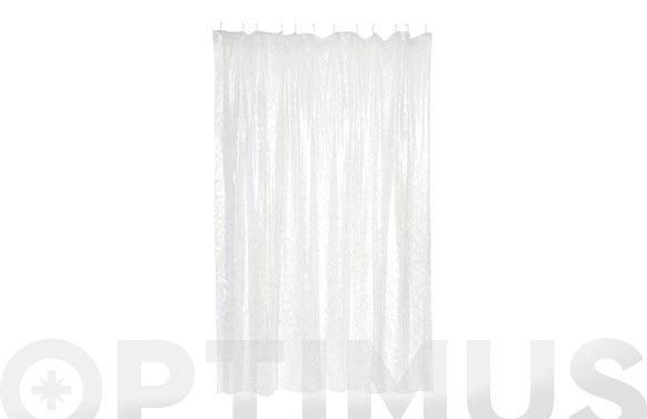 Cortina baño pvc mosaik 180 x 200 cm