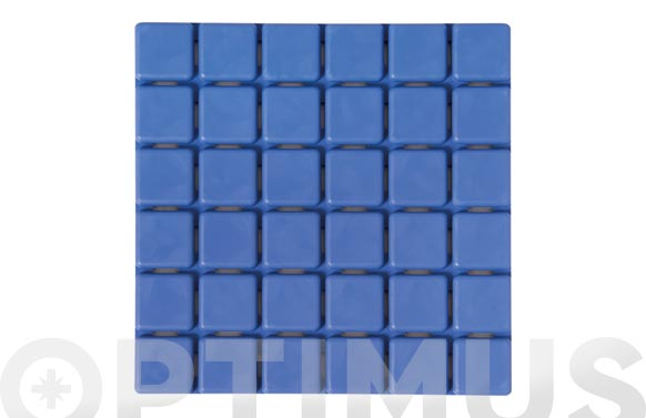 Antideslizante pack 6 bañera quadros azules