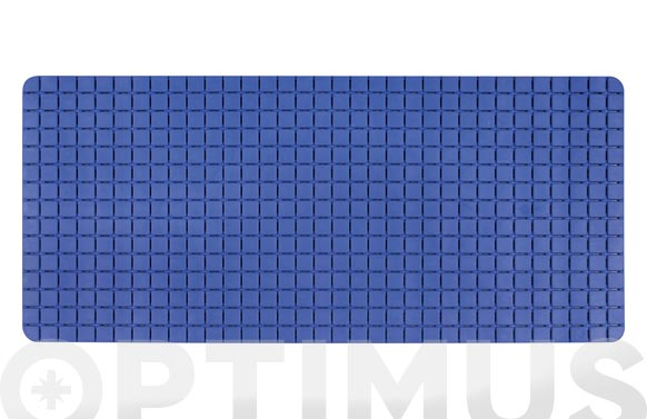 Antideslizante bañera quadro 36 x 76 cm azul