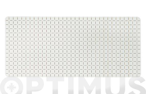Antideslizante bañera quadro blanco 36 x 76 cm