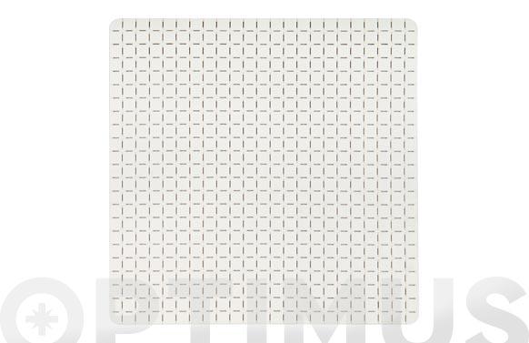 Antideslizante bañera quadro blanco 54 x 54 cm