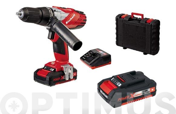 Taladro bateria percutor te-cd 18-2-li 18 v 1 bateria 1.5 ah +1 de 2.0 ah