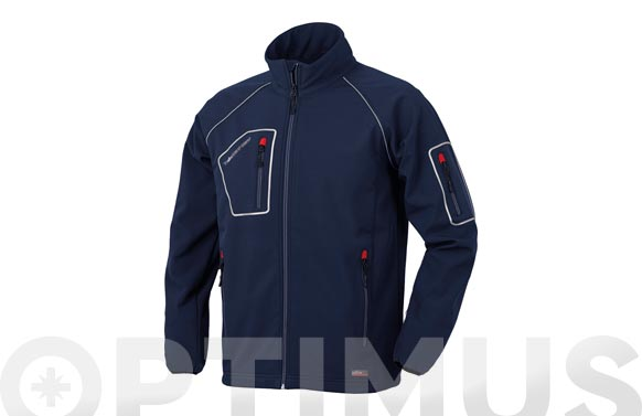 Chaqueta just azul t. m