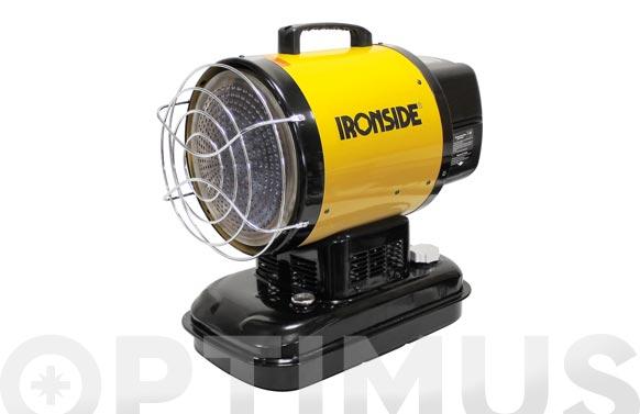Calentador a gasoleo por radiacion 17.000 w 14.600 kcal / h., con termostato