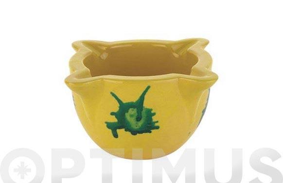 Mortero amarillo n.2 15x8 cm