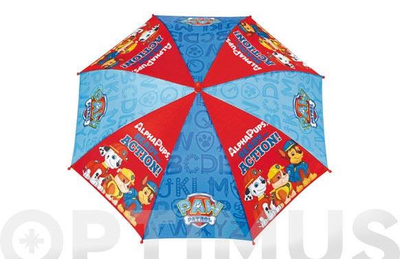 Paraguas infantil manual patrulla canina