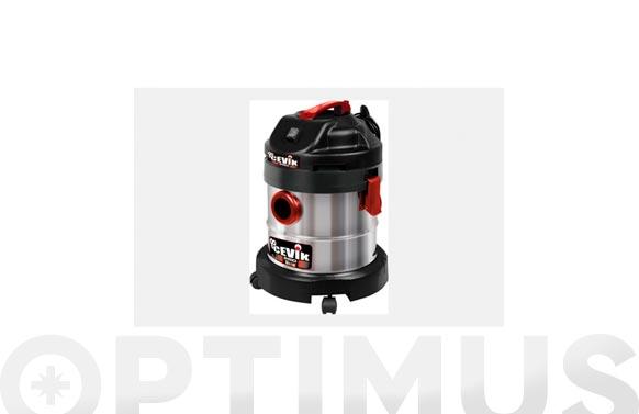 Aspirador solidos liquidos inox 20 litros 1200 w